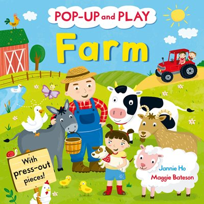 Book cover for Pop-up and Play Farm